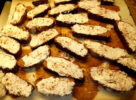 January Warm Up:  Gingerbread Biscotti