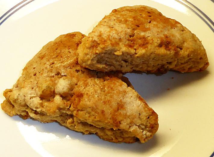 Cinnamon-Raisin Sourdough Scones