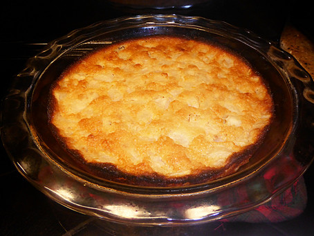 Ginger Pear Clafoutis:  An Easy, Inexpensive Fall Dessert