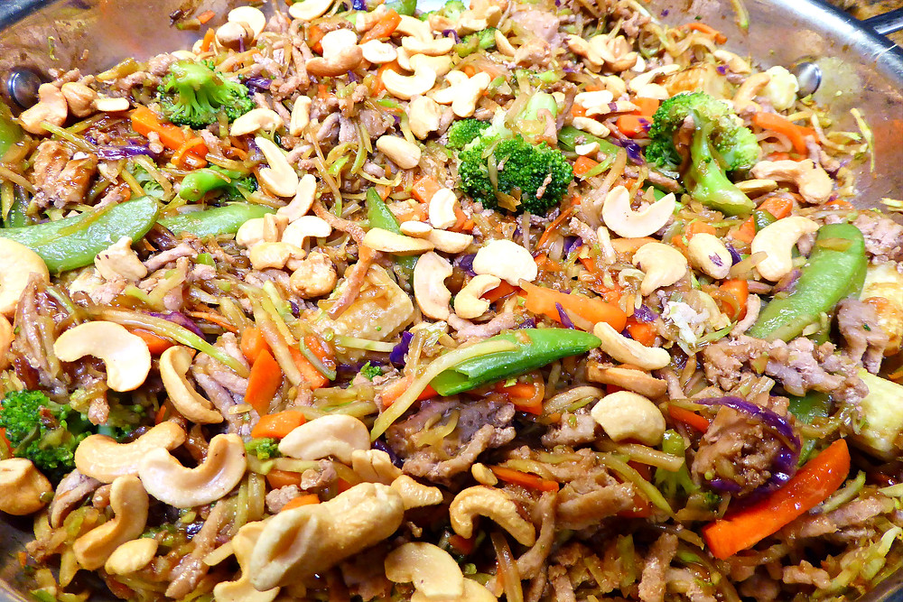Don't Want to Cook Dinner?  Make a Quick Ground Turkey Skillet Stir Fry