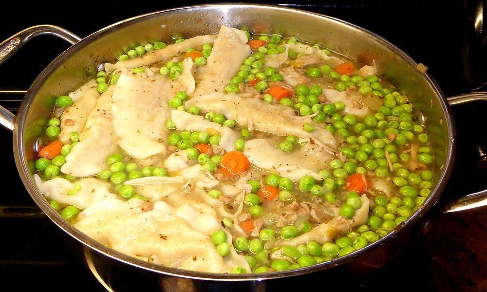 Easy Turkey Dumpling Soup
