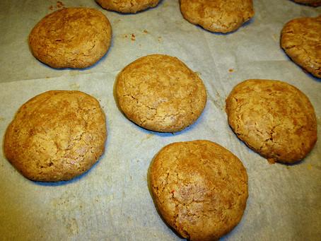 Gluten-Free Cookies:  Walnut Poufs