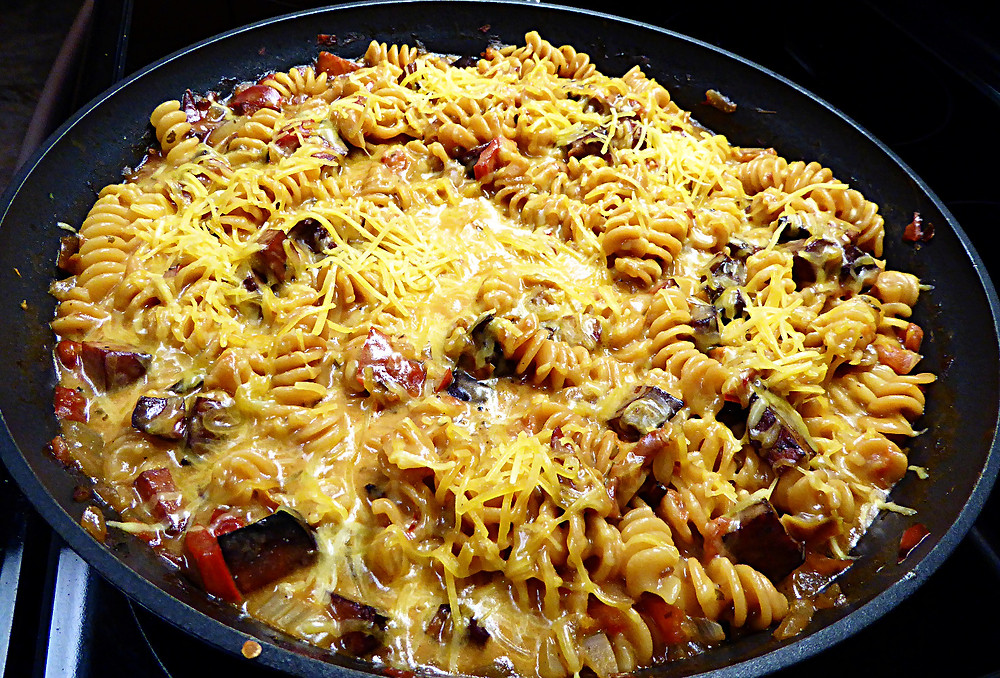 Easy, Budget, Quick Denver Pasta Skillet