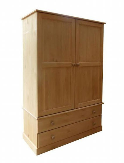 pine wardrobe made in Cornwall