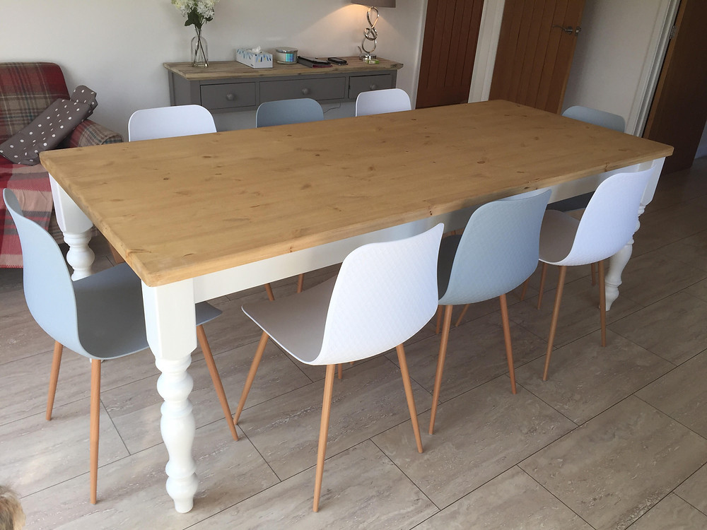 7'x 3' table