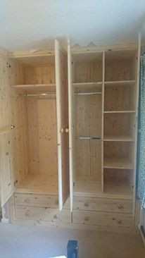 Inside our wardrobes