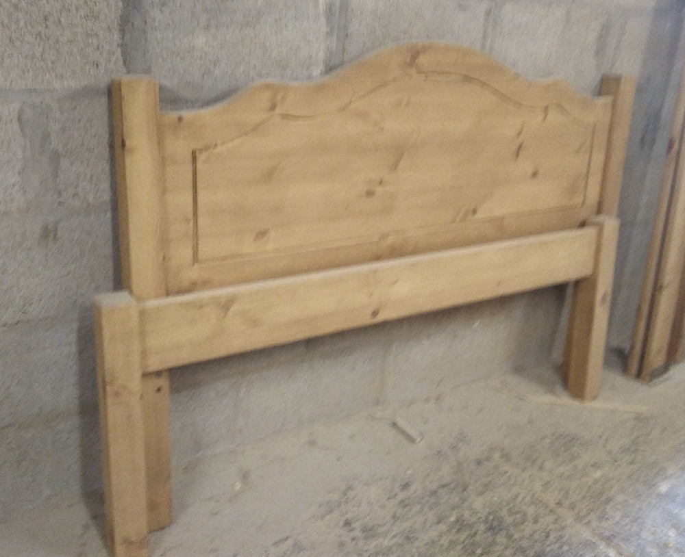 hand made bed