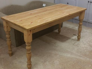 Some of our farmhouse tables