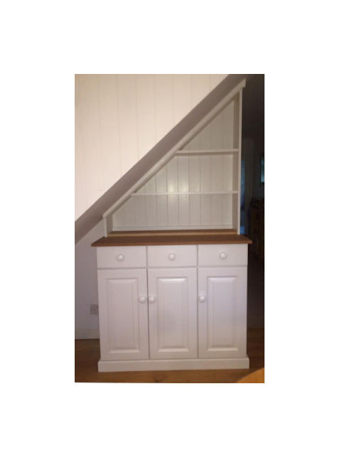 Painted fitted furniture
