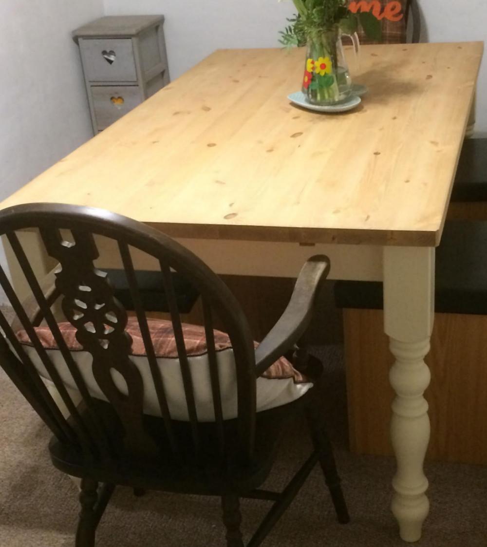 5' farmhouse table