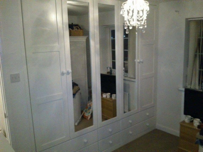 Fitted wardrobes made your way