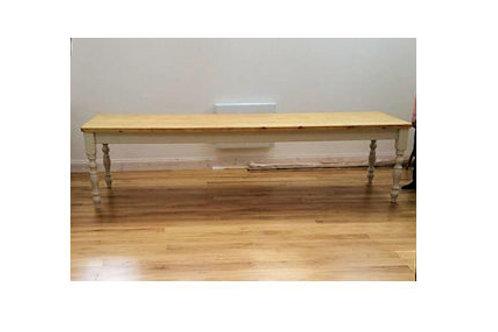 10'x 3' farmhouse table
