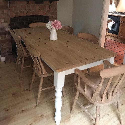 6'x3' farmhouse table