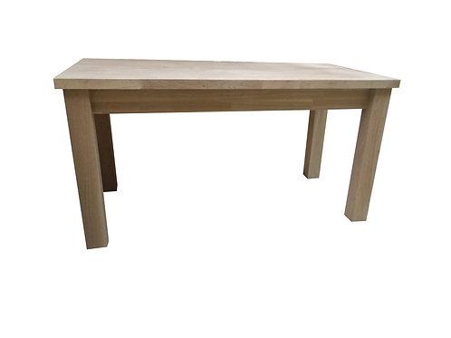 10' x 3' oak farmhouse table