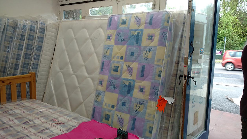 mattresses at our pine factory shop