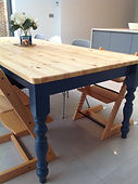 pine farmhouse tables and chairs