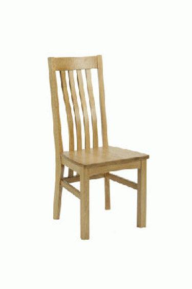 Harrington solid oak chair