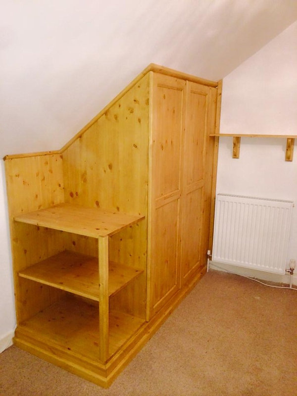 Small fitted wardrobe Cornwall