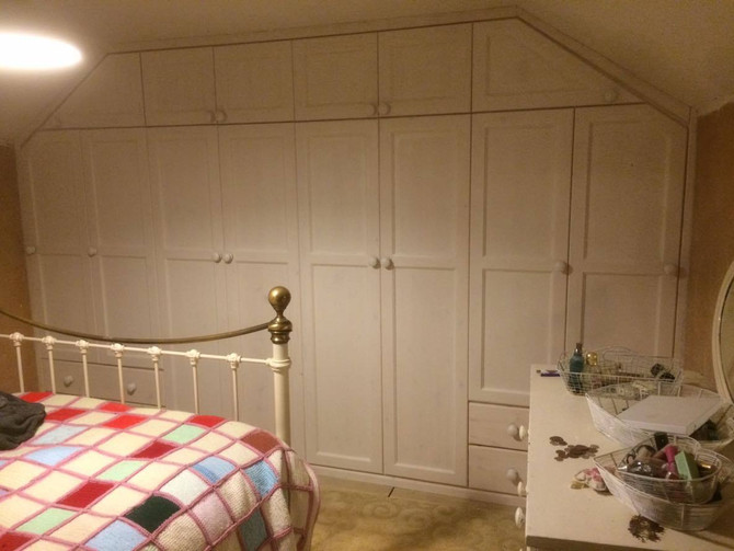 Wow - our latest fitted wardrobe