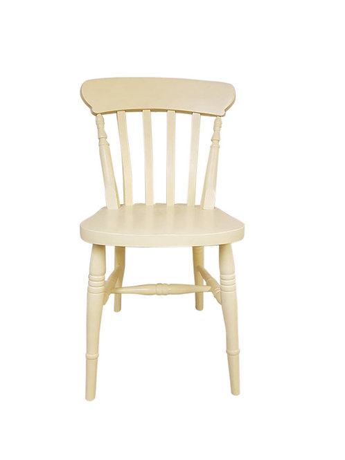 Painted slat chair