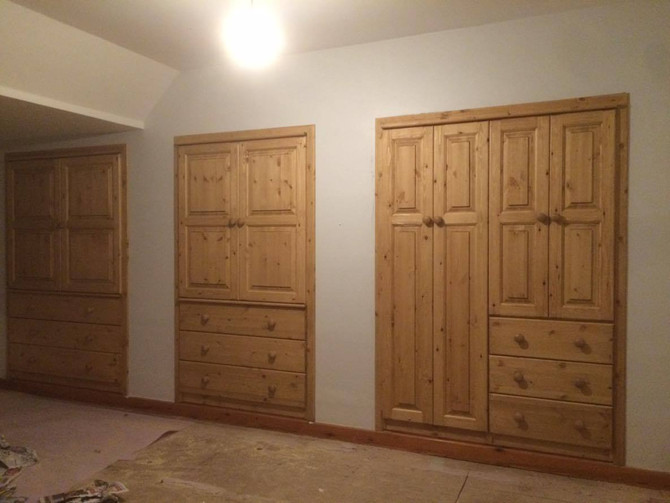 Another gorgeous fitted furniture installation