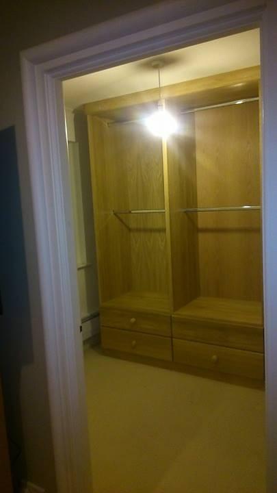 fitted wardrobe Devon
