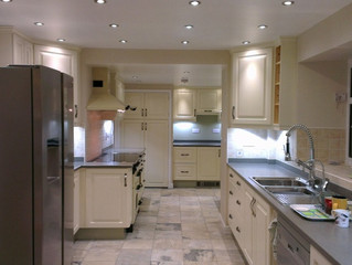 Fitted kitchens and a busy week