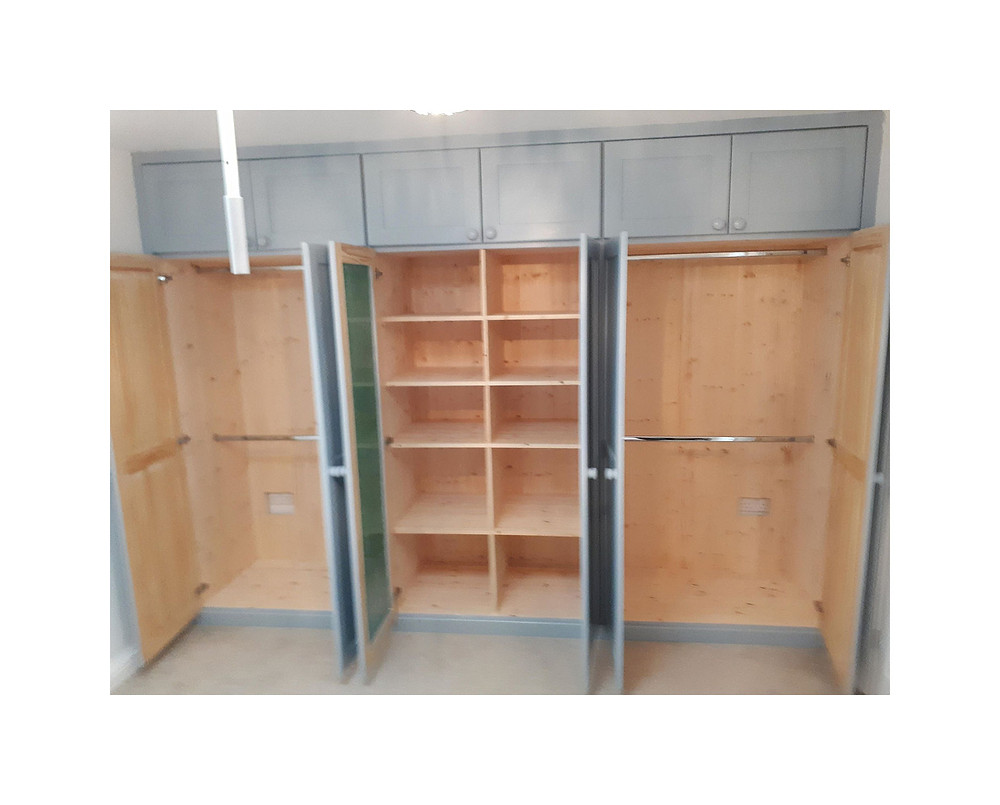 fitted wardrobe interior