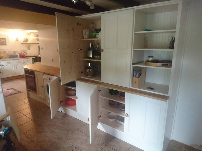 Our latest fitted kitchen and some lovely feedback