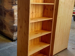 A bespoke bookcase