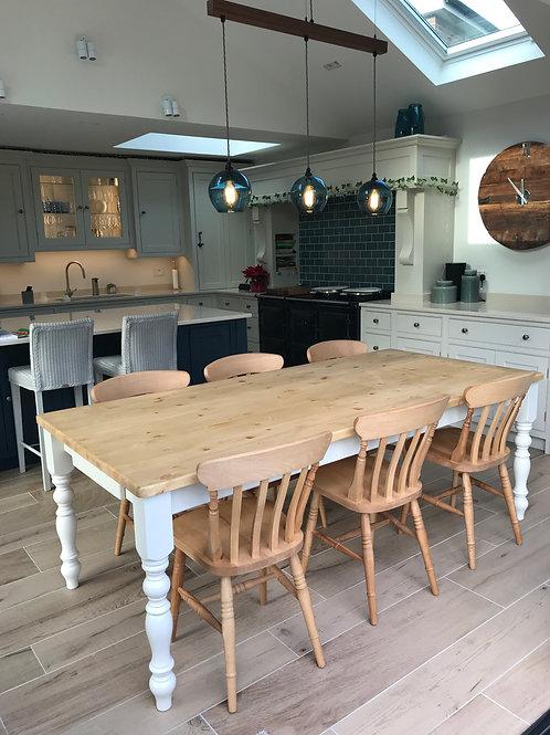 7'x3' farmhouse table