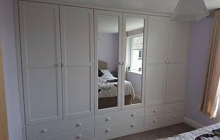 Fitted wardrobes Devon