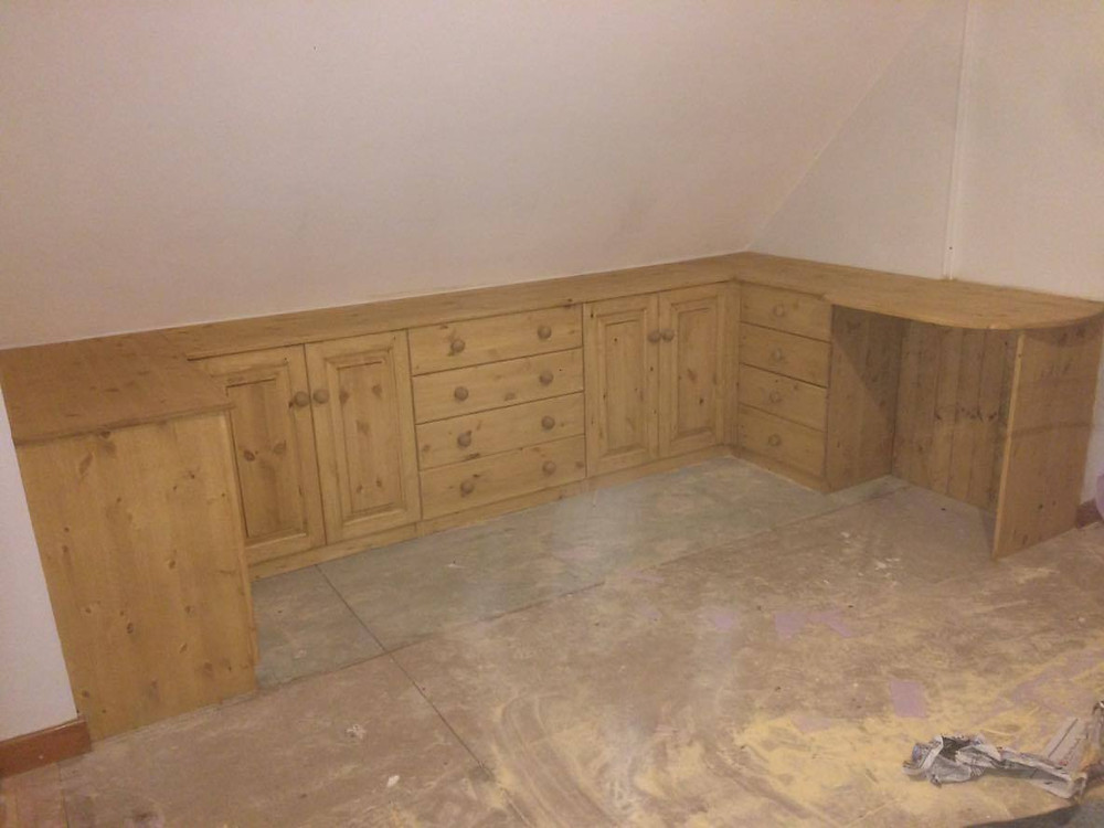 fitted bedroom furniture Cornwall