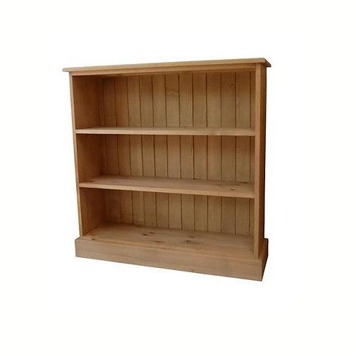 3'x3' pine bookcase