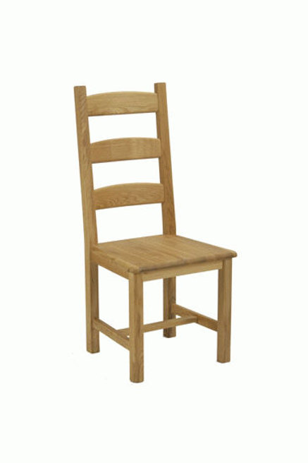 Provence solid oak chair
