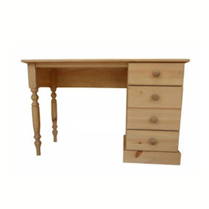 Single pine dressing table