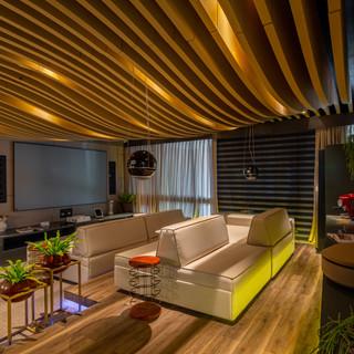 Home Theater Casa Cor 2019, Fortaleza-CE