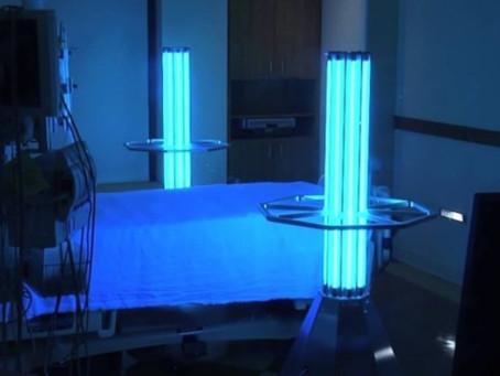 Iluminação que mata vírus