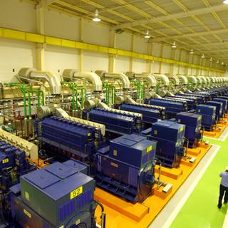 Casas de Máquinas e Indústrias
