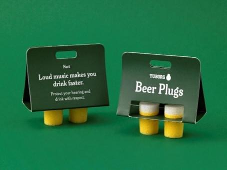 Beer Plugs - Protetores de Ouvido de Cerveja