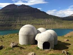 Um edifício que canta na Islândia