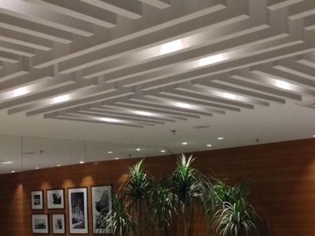 Baffles - Excelente solução acústica que combina técnica e estética com criatividade