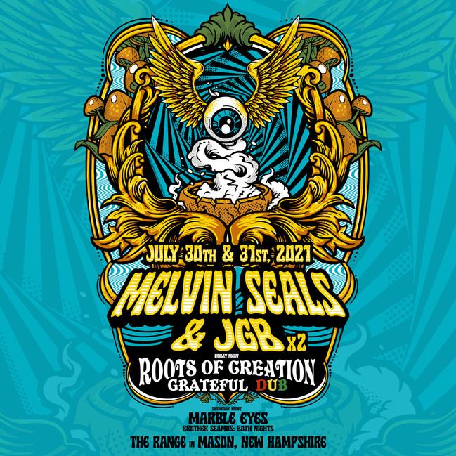 2 Nights of Melvin Seals & JGB