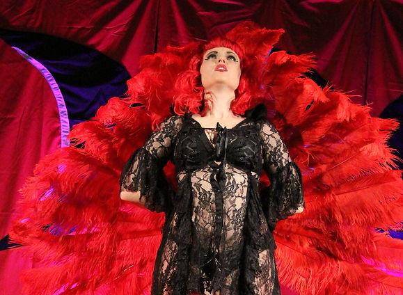 Porcelain Rose, Australian gothic burlsque performer.