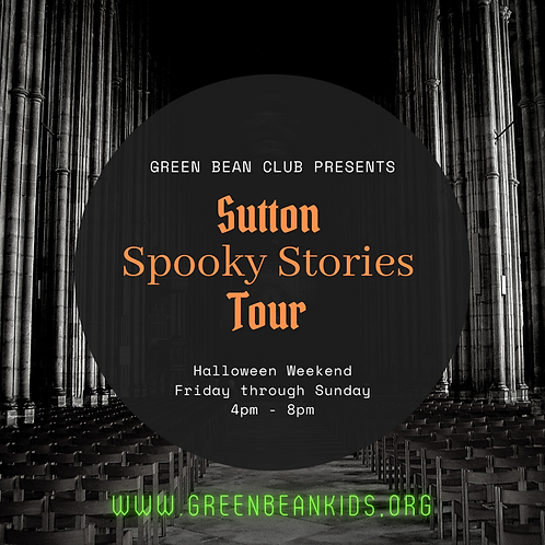 Sutton Spooky Stories Tour Map