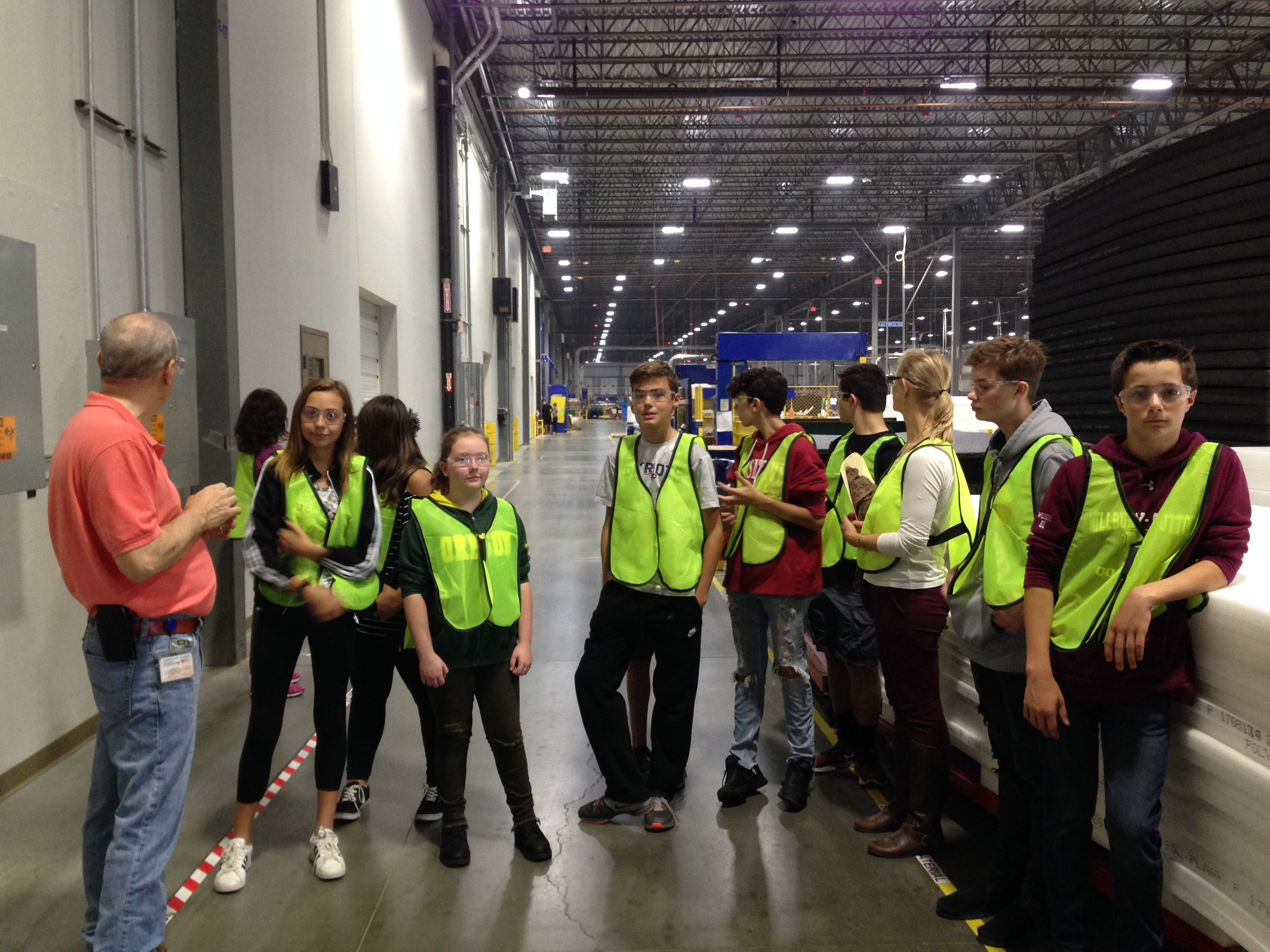 Student Trip to Unified Global Packaging