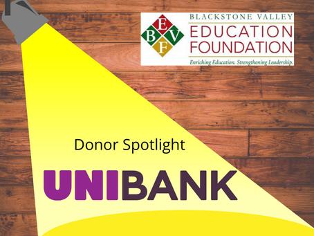 Donor SPOTLIGHT - UniBank