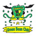 Creating the Green Bean Club emblem: A twin effort!