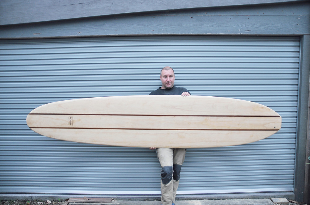 Darren with the finished Scott Dillion Replica
