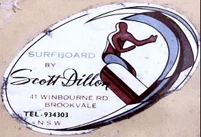 Original Scott Dillion Logo